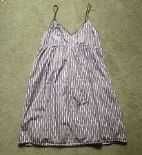 CONVERSE ONE STAR Womens Size 14 Sleeveless Empire Waist Sun Dress Striped