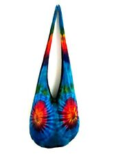 da 27 CROSSBODY BAG SUMMER SHOULDER TIE DYE HOBO VIVID UNISEX MESSENGER THAI