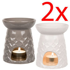 NEW 2 X OIL BURNER WAX TEALIGHT CANDLE TARTS CAKE MELTS GRANULES CALM AROMA GIFT