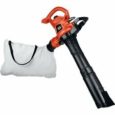 New Black And Decker Vac 12 Amp Blower And Electric Leaf Yard Vacuum Mulcher
