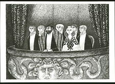 1979 EDWARD GOREY PRINT Poster Opera Box From The Blue Aspic