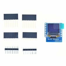 "WeMos D1 mini OLED Shield with I2C/IIC 0.66"" OLED 64x48 Pixels 3.3V"