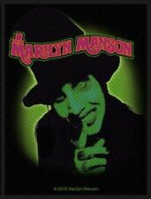 Marilyn Manson - Smells Like Children Patch Aufnäher Metal Gothic Rock Punk NEU