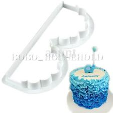 Cake Cookie Paste Cutter B Shape Fondant Sugarcraft decorating lace Mold Mould