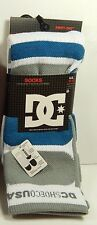 DC Shoes Men's Performance Skate Socks Size 10-13 New Cushion Comfort Breathable