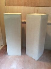 "2X  351/2"" Hand Made Mdf Cubes For Display Flourist Cakes Weddings Etc"