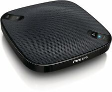 PHILIPS PORTATILE BLUETOOTH MULTI Conferenza wecall Music Speaker USB Custodia da viaggio