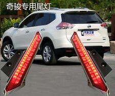 2x Rear Window decoration lamp led brake lights for Nissan Rogue X-Trail 2014-16