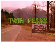Flexible Fridge Magnet Photo Of   TWIN PEAKS SIGN