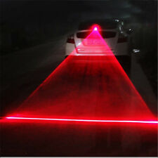 Vehicle Car Auto LED Laser Fog Light Anti-Collision Taillight Brake Warning Lamp