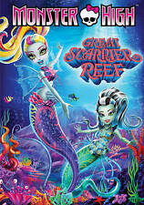 Monster High: Great Scarrier Reef (DVD, 2016)