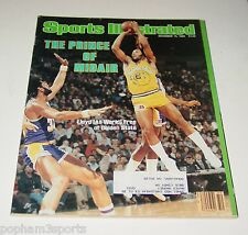LLOYD ALL WORLD FREE Sports Illustrated SI Magazine GOLDEN STATE WARRIORS 1980
