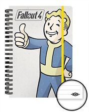 Official Fallout 4 Notebook Lined A5 Notepad Gaming Vault Boy Tec Novelty Gift