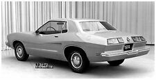1972 Mustang II full size rear fiberglass concept car 8 x 17  Photograph