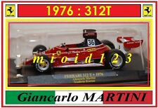 1/43 - FERRARI 312T - Gian Carlo MARTINI - 1976 - Die-cast ( Team EVEREST )
