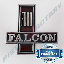 FORD FALCON Grille Badge , Chrome , New for XW grill GS GT