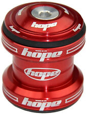 "Hope Conventional Headset 1-1/8"" MTB XC AM Enduro DJ - Red - Brand New"