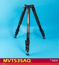 Manfrotto MVT535AQ Aluminum Tripod Legs with 75mm Bowl Supports Over 20 Kg