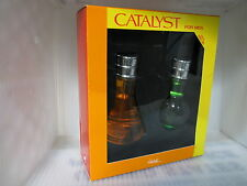 HALSTON CATALYST FOR MEN 2 PIEES GIFT SET:3.4 oz EDT Spray + 3.4 oz After Shave