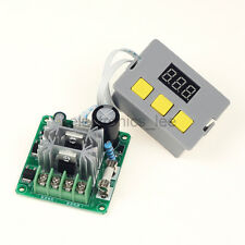 DC12-30V10A PWM DC Motor Speed Governor Controller /w Digital LED Display