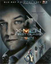X-Men: First Class (Blu-ray, Slipcover, Canadian)