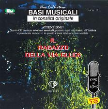 """BASI MUSICALI """"IL RAGAZZO DELLA VIA GLUCK VOL.18"""" (2CD)"""