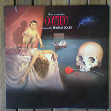 "Gothic Thomas Dolby ‎""Music From The Film"" 90607-1 (1987) 12"" LP NM Condition"
