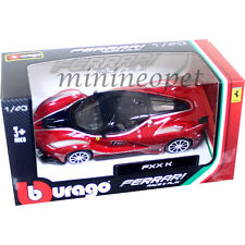 BBURAGO 18-36100 B FERRARI FXX K #10 1/43 DIECAST MODEL CAR RED