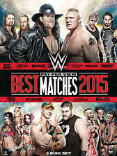 Wwe 2016:Best Pay-Per-View Matches 2015  DVD NEW