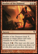 1x Bonfire of the Damned Avacyn Restored MtG Magic Red Mythic Rare 1 x1 Card
