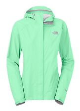 $99 The North Face sz XS Lightweight Windbreaker Hoodie Venture Jacket Green NWT