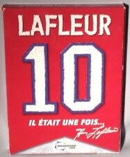 DVD LAFLEUR Il Etait Une Fois... (2 DISC SET) SIGNED BY GUY LAFLEUR MINT