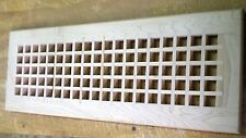 """Maple Cold Air Return Register Vent Cover for a 6"""" W x 20"""" L Ductwork Opening"""