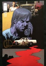 IMAGE COMICS THE WALKING DEAD #115 COVER F SIGNED BY CHARLIE ADLARD W/COA