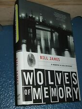 Wolves of Memory by Bill James HC/DJ 1st *FREE SHIPPING* 0393061884