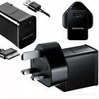 """Samsung Tab 2 Tablet 7"""" 8.9"""" 10.1 Note Mains USB Wall Charger Plug + Data Cable"""