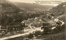 France Vuillafans - Les Usines Girod old sepia postcard