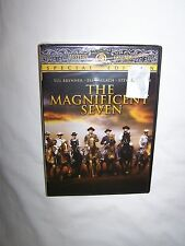 The Magnificent Seven (DVD, 2001, Special Edition) Yul Brynner, Steve McQueen