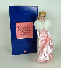 """Authentic Mattel #3415 Procelain """" ENCHANTED EVENING 1960 """" Barbie 1987 Doll"""