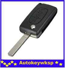 Citroen C2/C3/C4/C5/C6/C8 3 Button Remote Flip Key Blank Shell/Case/Enclosure