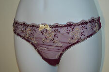 Verdissima Purple Thong /  Knickers Small BD32