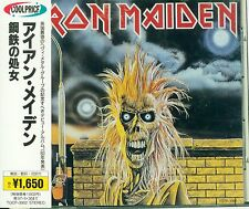 Iron Maiden - Iron Maiden Japan TOCP-3002 OBI 1995