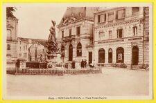 cpa 40 - MONT de MARSAN (Landes) Place Pascal Duprat BANQUE RÉGIONALE des LANDES
