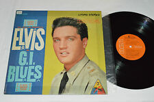 ELVIS PRESLEY G.I. Blues LP RCA Victor LSP-2256 Orange Labels Canada G+/G+
