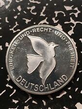 Germany 'Gewaltlos Zur Demokratie' Medal Lot#7236 Dove, Fall of the Berlin Wall