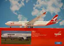 Herpa Wings 1:500 Airbus A330-300 Qantas 80 Years VH-QPA  528672