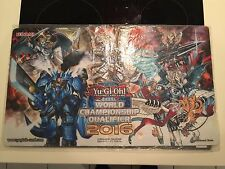 Yu-Gi-Oh Top 64 WCQ 2016 Dracoslayer Playmat VERY HARD TO FIND NEW CONDITION