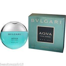 Bvlgari Aqua Marine Eau De Toilette Man Fragrance 150ml New In Box Free Shipping