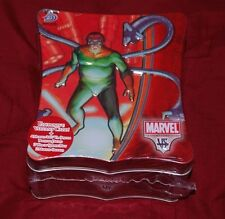 2004 DOCTOR OCTOPUS MARVEL TRADING CARD GAME COLLECTOR TIN AND  GAME CARDS