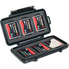 Pelican 0945-015-110 Compact Flash Case Memory Card Case Fits 6 CF Cards